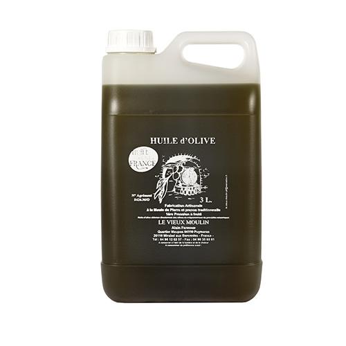 Bidon 3L huile Tanche
