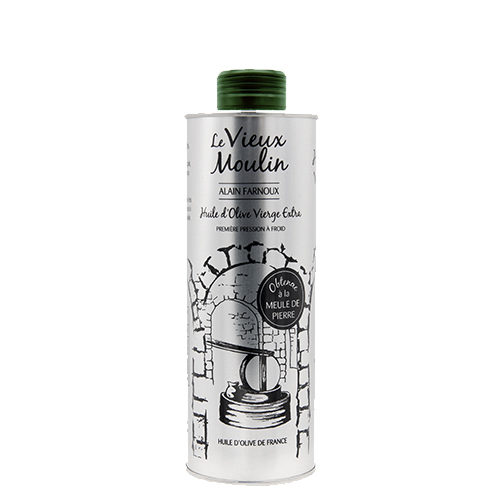 Bidon d'huile d'olive Vierge Extra « Vieux Moulin » 250 ml