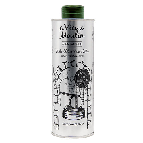Bidon d'huile d'olive Vierge Extra « Vieux Moulin » 500 ml