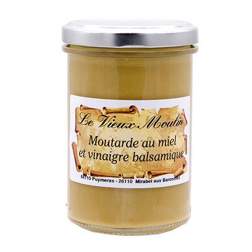 Pot Moutarde Miel Vinaigre Balsamique